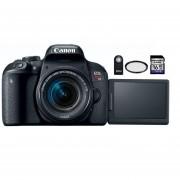 Camara Reflex Canon T7i Kit 18-55mm + Control + Filtro Uv + 16gb