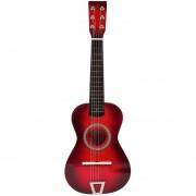 Simulación de guitarra de juguete 360DSC - Triangulacion roja
