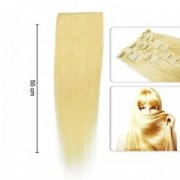 Extensii Deluxe Tape-On Par Natural Blond Auriu
