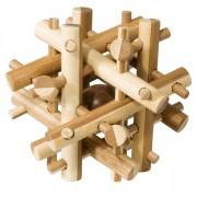 Fridolin Joc logic IQ din lemn bambus Magic sticks