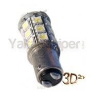 Ampoule 81 LED 1157 BAY15D culot P21/5W- Blanche pour Veilleuse
