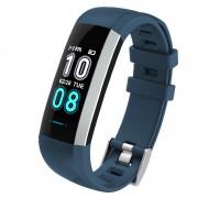 M2MAX 0.96-inch Color Screen Waterproof Fitness Tracker Bracelet Smart Wrist Watch Band - Blue
