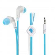 Универсални слушалки (с микрофон) 3.5mm - модел JD88 (синьо-бяло)