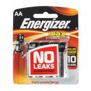 Energizer AA Max + Powerseal Batteries 4Pk