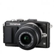 Olympus E-PL5 Pen svart + M.Zuiko 14-42/3,5-5,6 II R+ 8GB trådlöst SD-kort