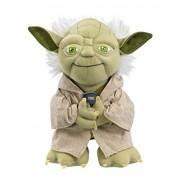 Star Wars Talking Yoda plush in gift box, Multi Color (9-inch)