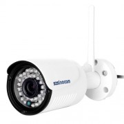 szsinocam SN-IPC-5029CSW HD 1080P H.264 2.0 Megapixel Infrared IP Bullet Camera Support Night Vision / Motion Detection IR Distance: 20-30m
