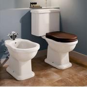 Flaminia Toilette Efi Monobloc avec Cassette - Chasse d'eau: Drain de plancher - siège: S