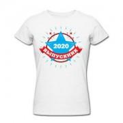 Футболка *Выпускник 2020* женская