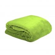 Patura verde deschis pufoasa DouDou