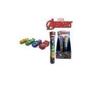 Kit Carrinhos A Friccao No Tubo Com 4 Pecas Vingadores/avengers