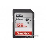 SanDisk SDXC kartica 128GB Ultra, Class 10 80MB/s, UHS-I
