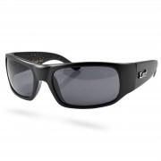 Locs Sonnenbrille Mattschwarz 9004