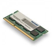 Memorie SO-DIMM Patriot Ultrabook 8GB DDR3 1600MHz 1.35V CL11 Dual Rank, PSD38G1600L2S