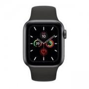 Смарт часовник Apple Watch Series 5 GPS (40mm) Space Grey Aluminium Case with Black Sport Band, MWV82BS/A