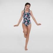 Speedo Lány Fürdőruha JungleGlow Allover Splashback(UK) 8-07386D811
