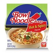 Nongshim tazn sopa de fideos de arroz, telfono de carne vietnamita, 2.18 onzas (Paquete de 6)