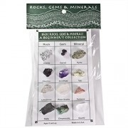 Fantasia Collection: A Beginners Collection Of Rocks, Gems & Minerals On An Identification Card Set #15 Educational Natural Rock, Fossil, Gemstone & Mineral Specimens For The Classroom