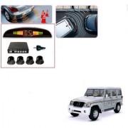 Auto Addict Car Black Reverse Parking Sensor With LED Display For Mahindra Bolero XL