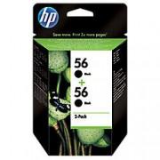HP Cartucho de tinta HP original 56 negro c9502ae 2 unidades