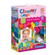 Clemmy - Set constructie fete, 80 de piese