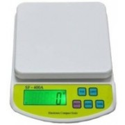 CrackaDeal 10 KG SF Serious Super Weight Machines Weighing Scale(White, Brown)