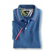 Walbusch UV-Schutz Polo Blau 50