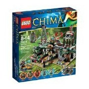 Lego The Croe Swamp Hideout, Multi Color