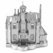 Bricolaje rompecabezas 3D Ghost Haunted House modelo de montaje de juguete - plata