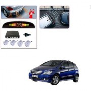 Auto Addict Car Silver Reverse Parking Sensor With LED Display For Mercedes Benz B-Class Electric