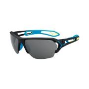 CEBE Ochelari de soare sport barbati Cebe S'TRACK LARGE MATT BLACK BLUE 1500 GREY AF SILVER FM + 500 CLEAR AF