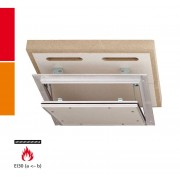 RUG Semin Alumatic F/EI30 Revisionsklappe - nach DIN4102-2 - 12,5 mm - 400 x 400 mm