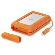 LaCie Rugged 4TB Thunderbolt USB-C Portable Hard Drive + 1mo Adobe CC All Apps (STFS4000800)