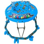 Oh Baby Baby 8 Wheel Blue Color Walker For Your Kids SE-W-49