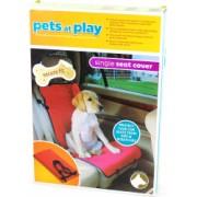 Husa protectie scaun auto pentru caini si pisici