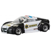 Scalextric C3709 QUICKBUILD Police Car Crash and Bash Slot Car (1:32 Scale)