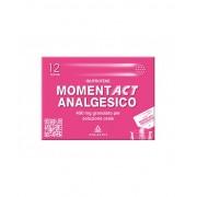 Angelini Spa Momentact Analgesico 400mg Analgesico-Antinfiammatorio 12 Bustine