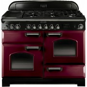 Rangemaster CDL110DFFCY/C Classic Deluxe Cranberry 110cm Dual Fuel Range Cooker