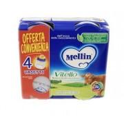 Mellin Omogeneizzato Vitello 4 Pezzi X 80 G