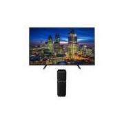 TV 40 LED Full HD Panasonic TC 40D400B + Mini System SC-UA7LB-K