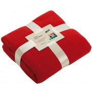 James & Nicholson Fleece deken rood