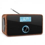 DABStep DAB/DAB+ Digitalradio Bluetooth UKW RDS Wecker Walnuss Walnuss