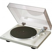 Denon Gramofon DP-300F Srebrny
