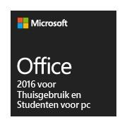 Office 2016 voor Thuisgebruik en Studenten voor pc
