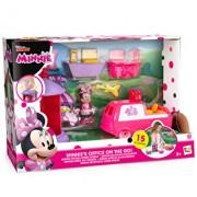 Set de joaca Minnie Mouse cu birou si masina