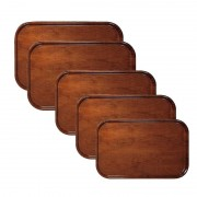 Tava lemn antiderapanta dreptunghiulara Cambro