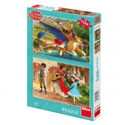 PUZZLE 2 IN 1 - ELENA DIN AVALOR (66 PIESE) - DINO TOYS (385207)