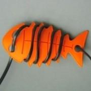CableFish portocaliu Organizator cabluri