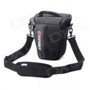 EIRMAI EMB-SS02L Bolsa protectora de nylon portatil para Nikon / Canon / Pentax-Negro