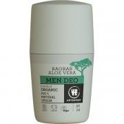 Deodorant roll bio organic cu aloe vera si baobab pentru barbati 50ml